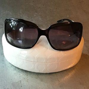 Coach Christiana Ladies Sunglasses Black